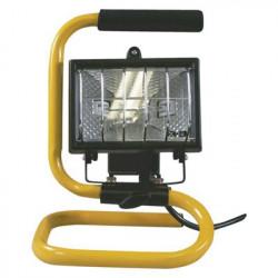 EMOS Halogenový reflektor 150W černý s držákem