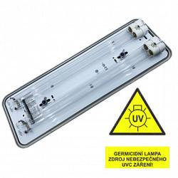 Svítidlo VICTORIA IP20 GERMICID UVC 254 nm 2x36W (kompletní zářič UVC)