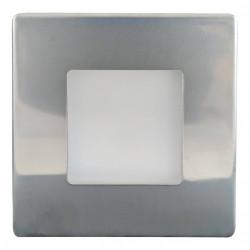 Greenlux nástěnné LED Svítidlo DECENTLY IP44 Nickel 2.5W NW (GXLL054)