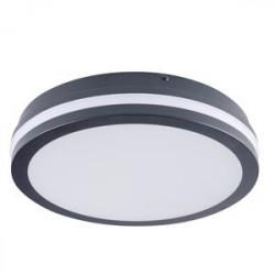 Přisazené svítidlo LED Kanlux BENO 24W NW-O-GR IP54 (33341)