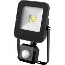 LED reflektor Greenlux ALFA PIR SMD 10W CW s čidlem (GXLR050)