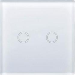 Smart dvoukanálový spínač Greenlux WiFi 2SWITCH White (GXSH041)
