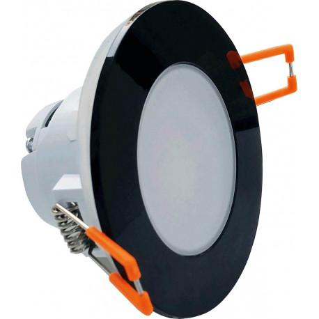 Bodové svítidlo Greemlux LED BONO-R Black 5W WW IP65/20 (GXLL080)