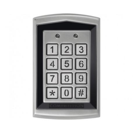 EMOS Kódová klávesnice DH16A-30DT se čtečkou RFID klíčenek,kovová (H8011)