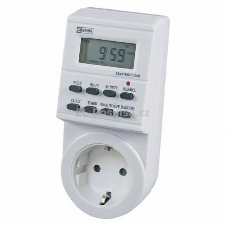 EMOS Digitální časovač SCHUKO TS-ED1 (P5521)